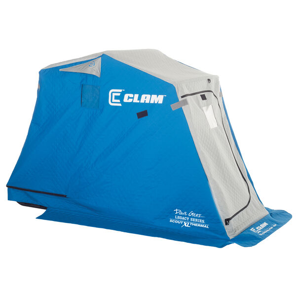Clam Scout XL Thermal Fish Trap Ice Shelter