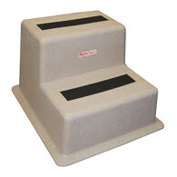Stepsafe Dock Step, Sandstone, Double Tread