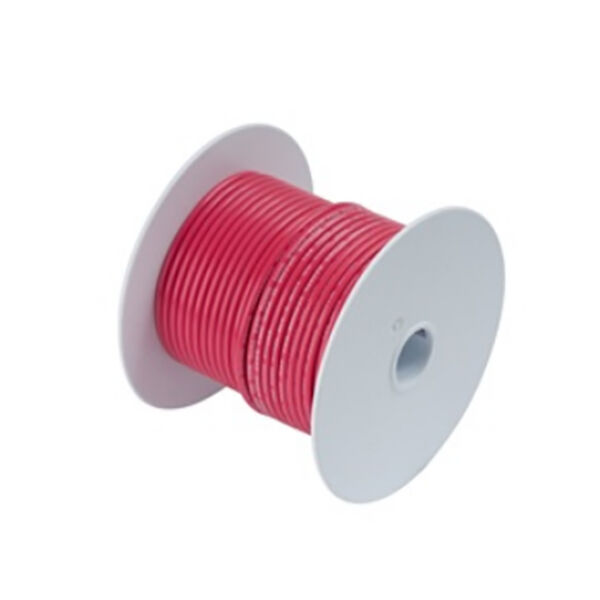 Ancor Red Tinned Copper Wire (14 AWG), 500'