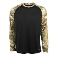 Realtree Men's Stealth Performance Long-Sleeve Tee