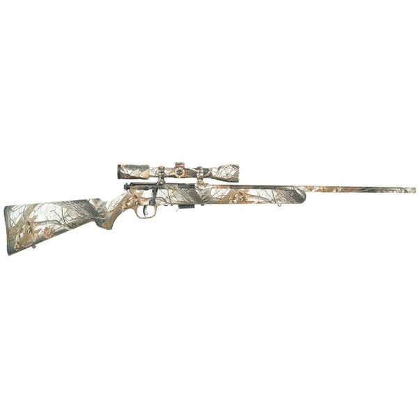 Savage Model 93R17 XP Snow Rimfire Rifle Package