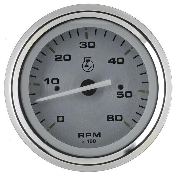 "Sierra Gold Sterling 3"" Tachometer"