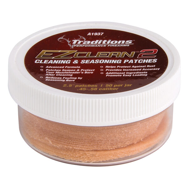 Traditions Firearms EZ Clean 2 Cleaning & Seasoning Patches