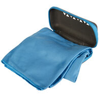 Rock Creek Blue Microfiber Camp Towel, Large