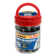 """Mini 10"""" Bungee Cords, 20 Pieces"""