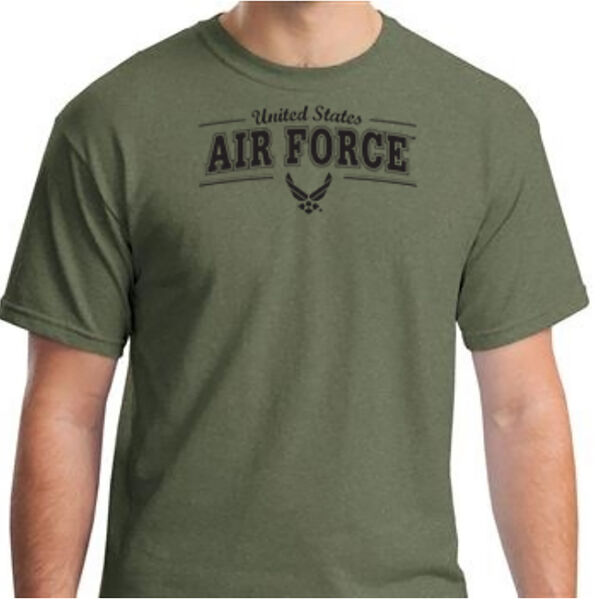 U.S. Air Force Men's Tee, Olive Green