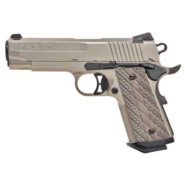 SIG Sauer 1911 Compact Nickel Handgun