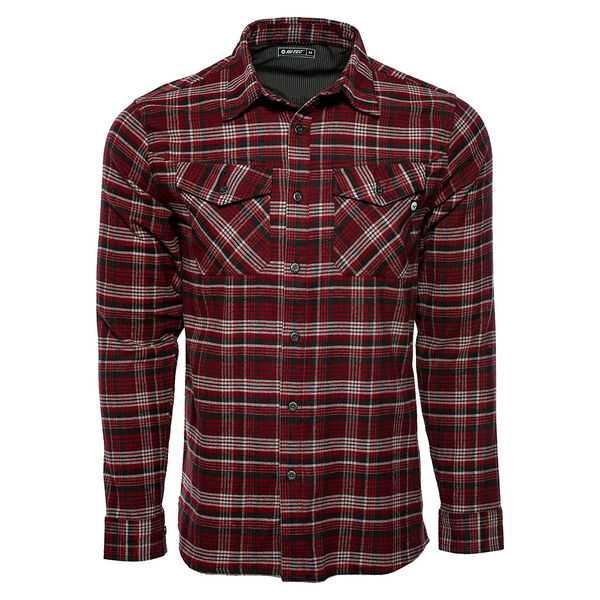 Hi-Tec Men's Adirondack Flannel Long-Sleeve Shirt