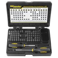 Wheeler Engineering Professional Gunsmithing Screwdriver Set, 72-Pc.