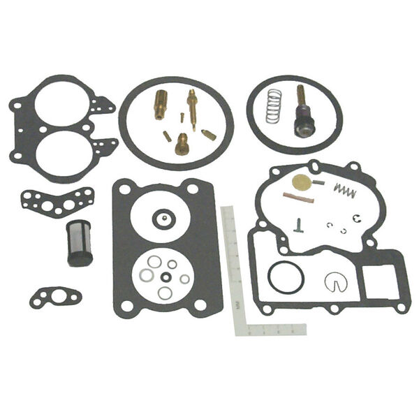 Sierra Carburetor Kit For Mercury Marine Engine, Sierra Part #18-7097