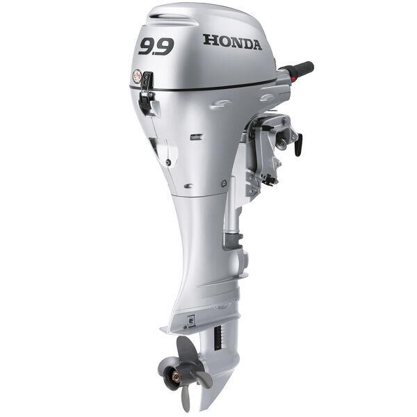 "Honda BFP9.9 Power Thrust Portable Outboard Motor, Electric Start 9.9HP 25""Shaft"