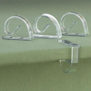 Lexan Clamps, Set of 4