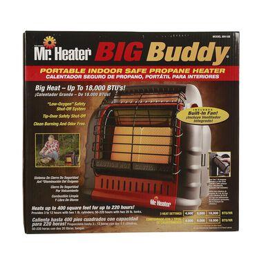 Mr. Heater Big Buddy Portable Indoor Propane Heater
