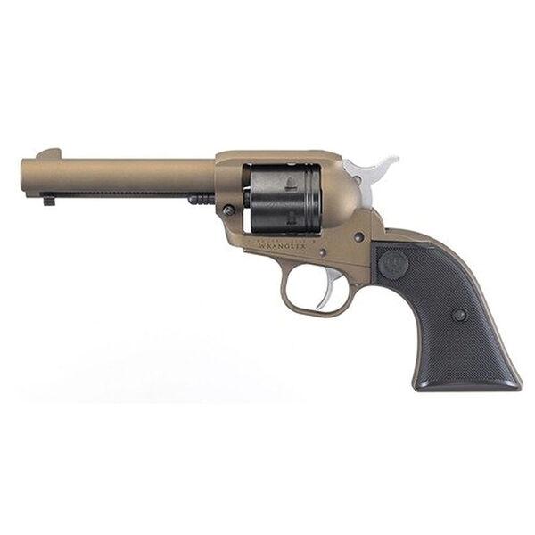 Ruger Wrangler Revolver, .22 LR, Burnt Bronze Cerakote