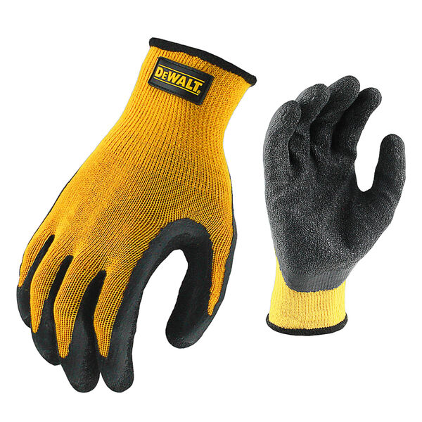 DeWalt Textured Rubber-Coated Gripper Glove