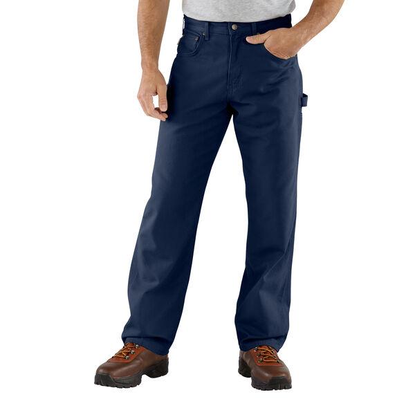 Carhartt Men's Loose Original Fit Canvas Carpenter Jeans