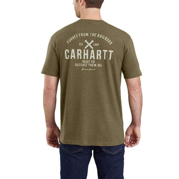 Carhartt Men's Maddock Outlast Graphic Short-Sleeve Pocket Tee