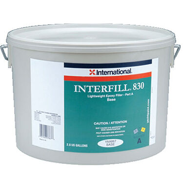 Interfill 830 Lightweight Fairing Compound, Trowelable, 2 Gallons