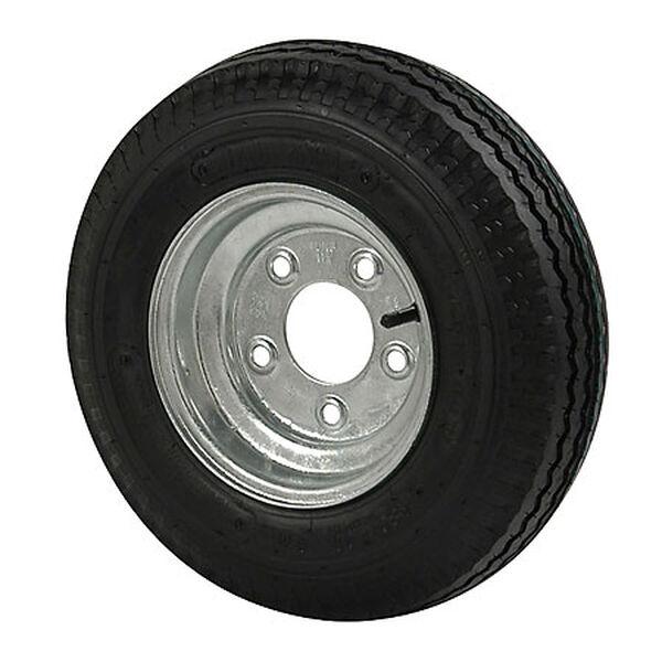 Kenda Loadstar 5.70 x 8 Bias Trailer Tire w/5-Lug Standard Galvanized Rim