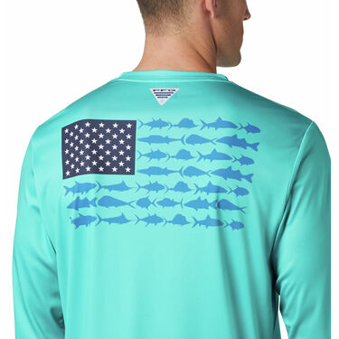 Columbia Terminal Tackle PFG Fish Flag Long Sleeve