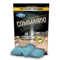 Commando Black Tank Cleaner, 4 Pack