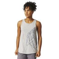 Adidas Women's Rock Graphic Tank Top