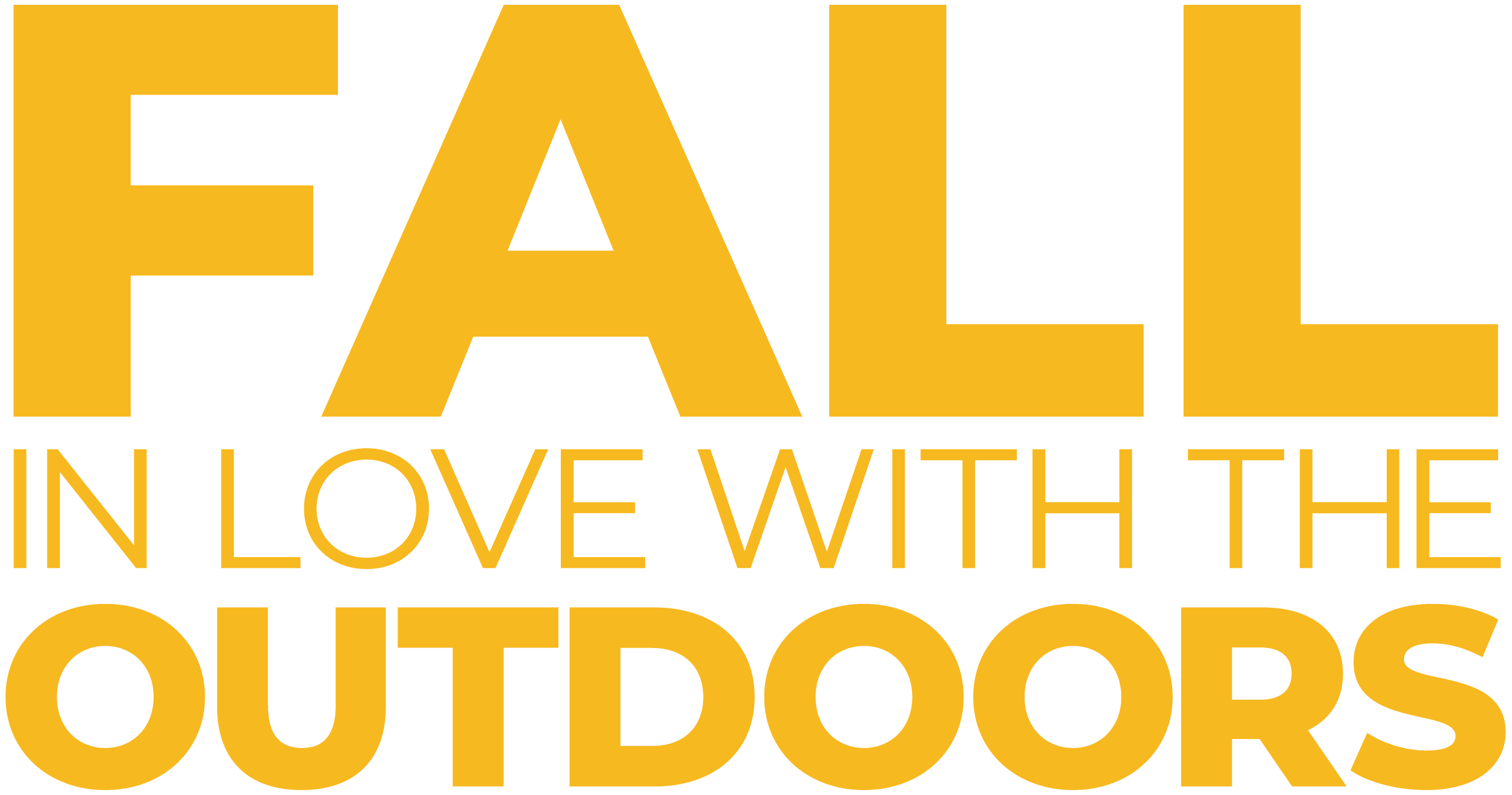 Fall in Love with the Outdoors