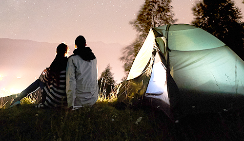 Save up to 40% on sleeping gear, tents & coolers