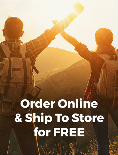 Order online & ship to store for free