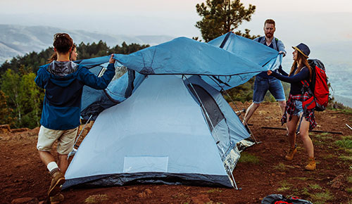 Save up to 40% on Camping Tents, Chairs, & Sleeping Accessories