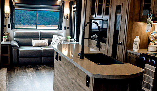 Save up to 40% on inside RV needs