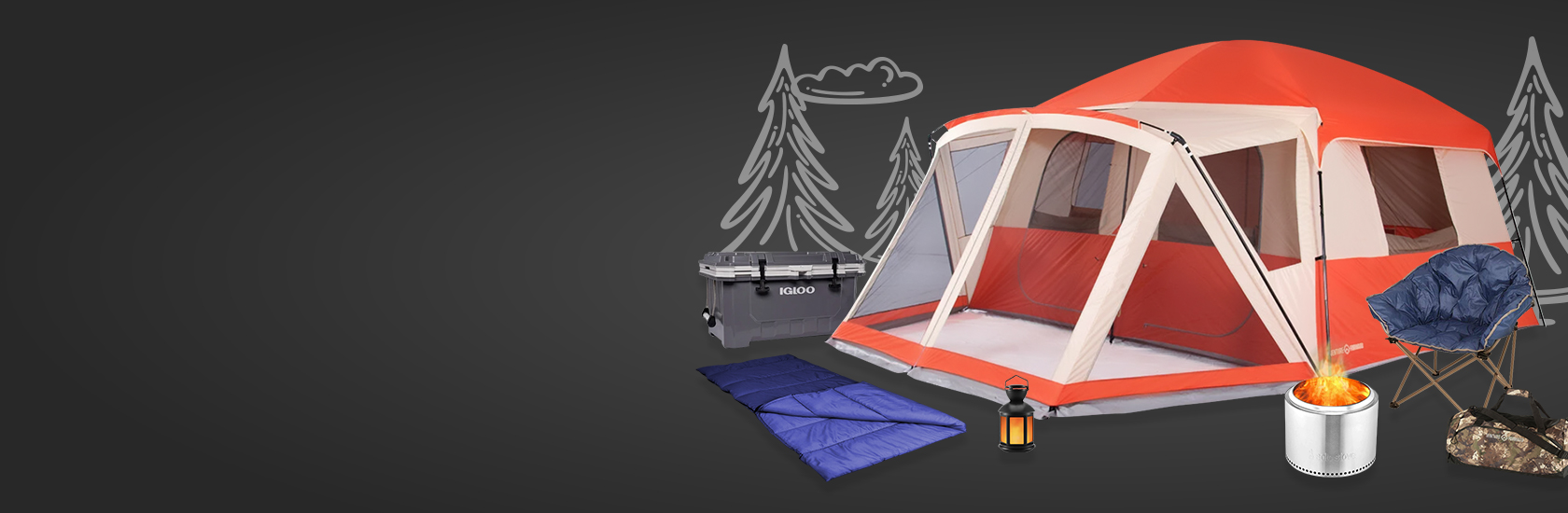 Back to Camping - Enhance your next outing & save up to 60% on Sleeping Bags, Tents, Cots, Firepits & More