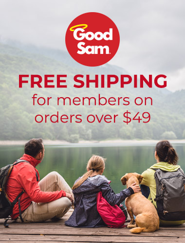 Free shipping for Good Sam members on orders over $49