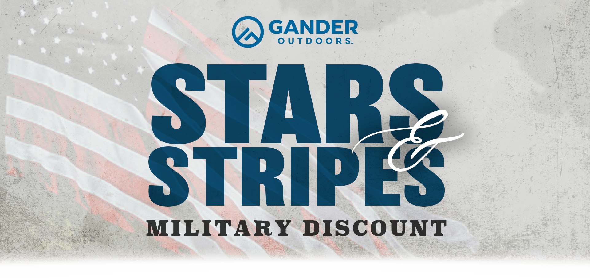 Gander Outdoors Star Stripes Military Discount