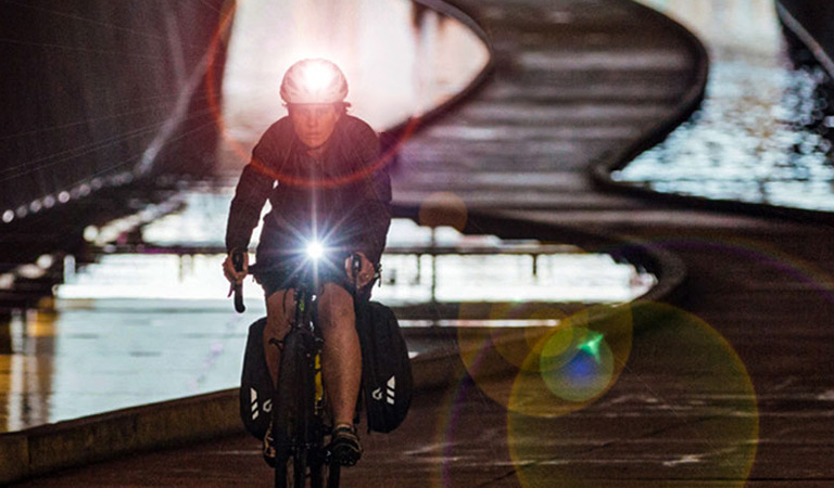 Upgrade your ride with bike lights & safety essentials