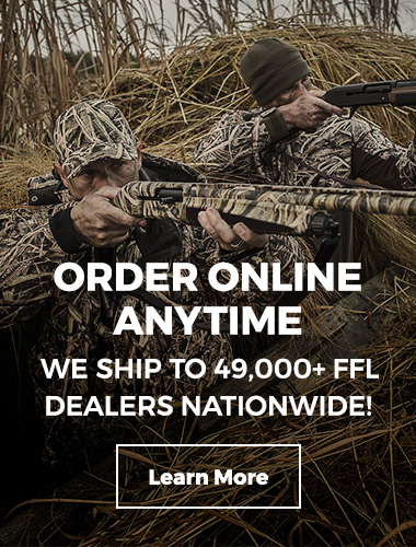 We ship to 49,000+ FFL dealers nationwide.