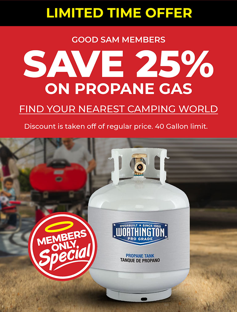 Save 25% on Propane Gas