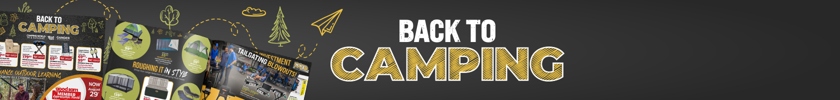 Back to Camping - Save up to 50% on RV & Outdoor Gear
