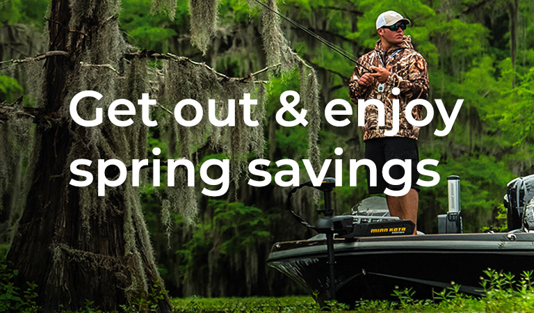 Get out & enjoy spring savings