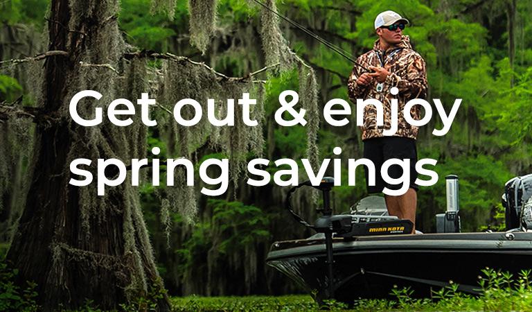 Get out & enjoy spring savings
