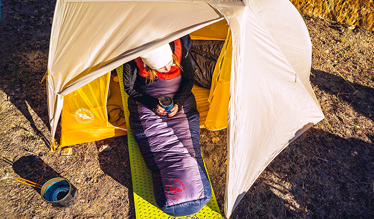 Save up to 40% on cots & sleeping bags