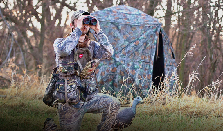 Save up to 30% on select hunting blinds
