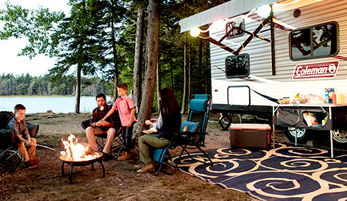 Save up to 40% on outside RV needs