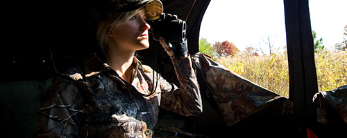 3 tips for hunting whitetail from a ground blind