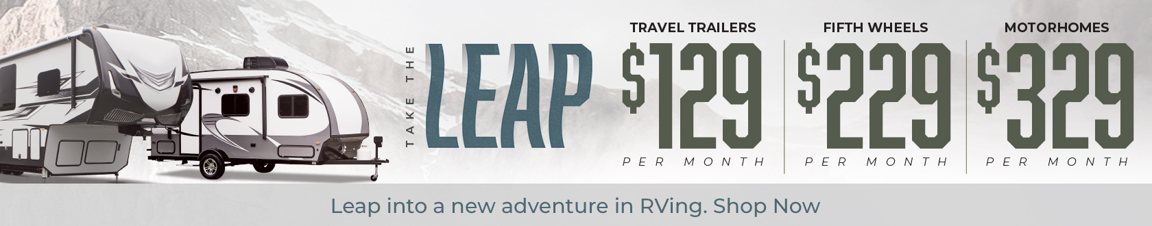 Leap into a new adventure in RVing