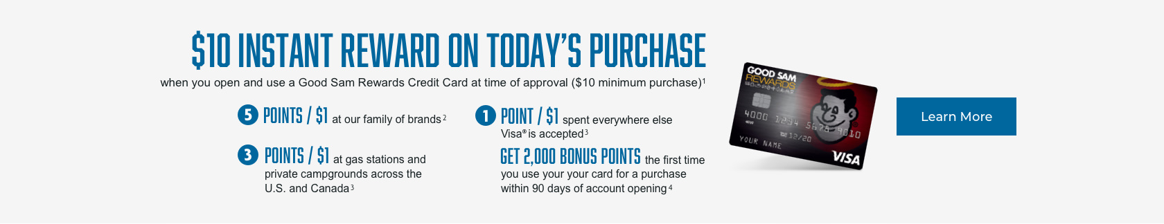 Good Sam Rewards Credit Card