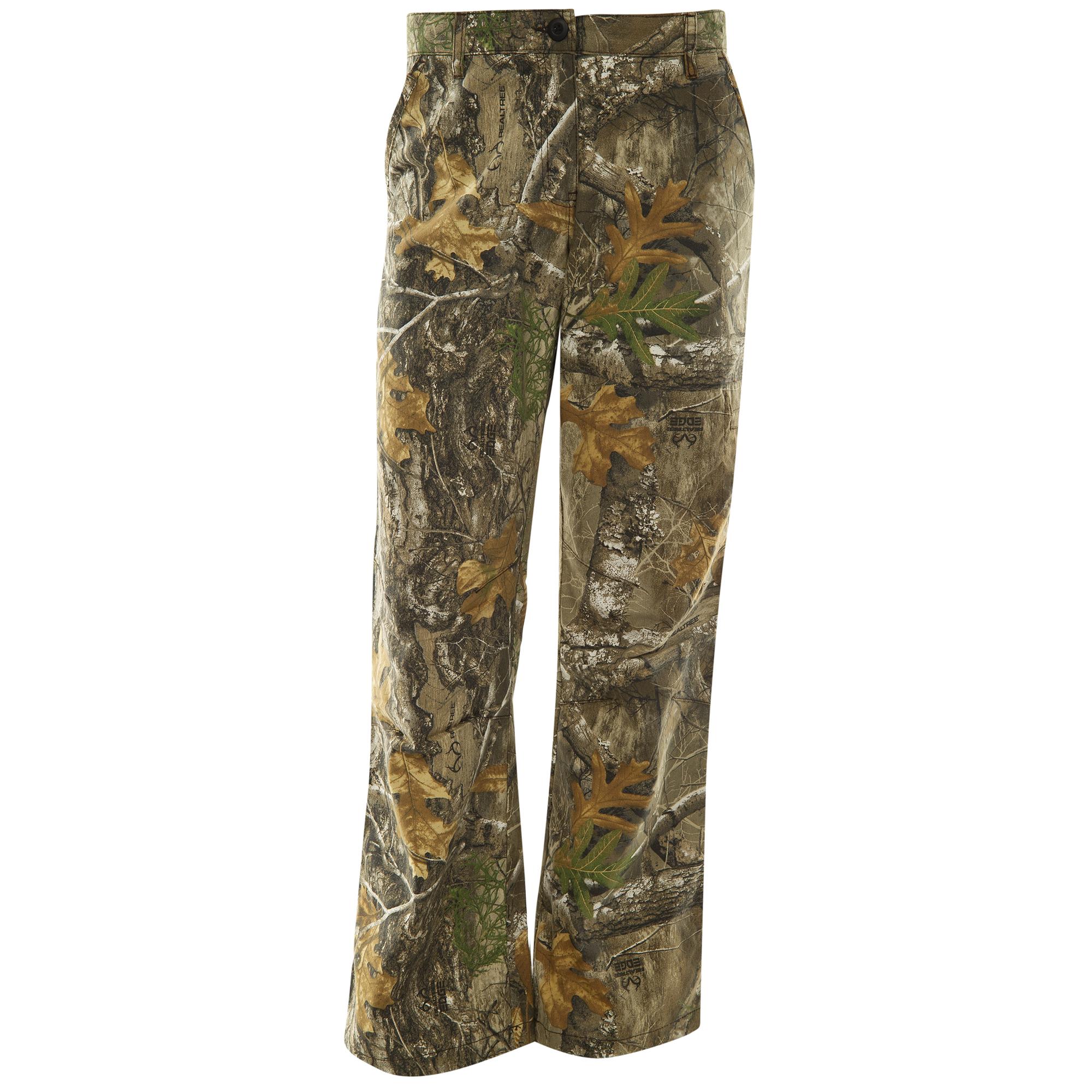 Hunter's Choice Women's Camo Hunting Pant, Realtree Edge