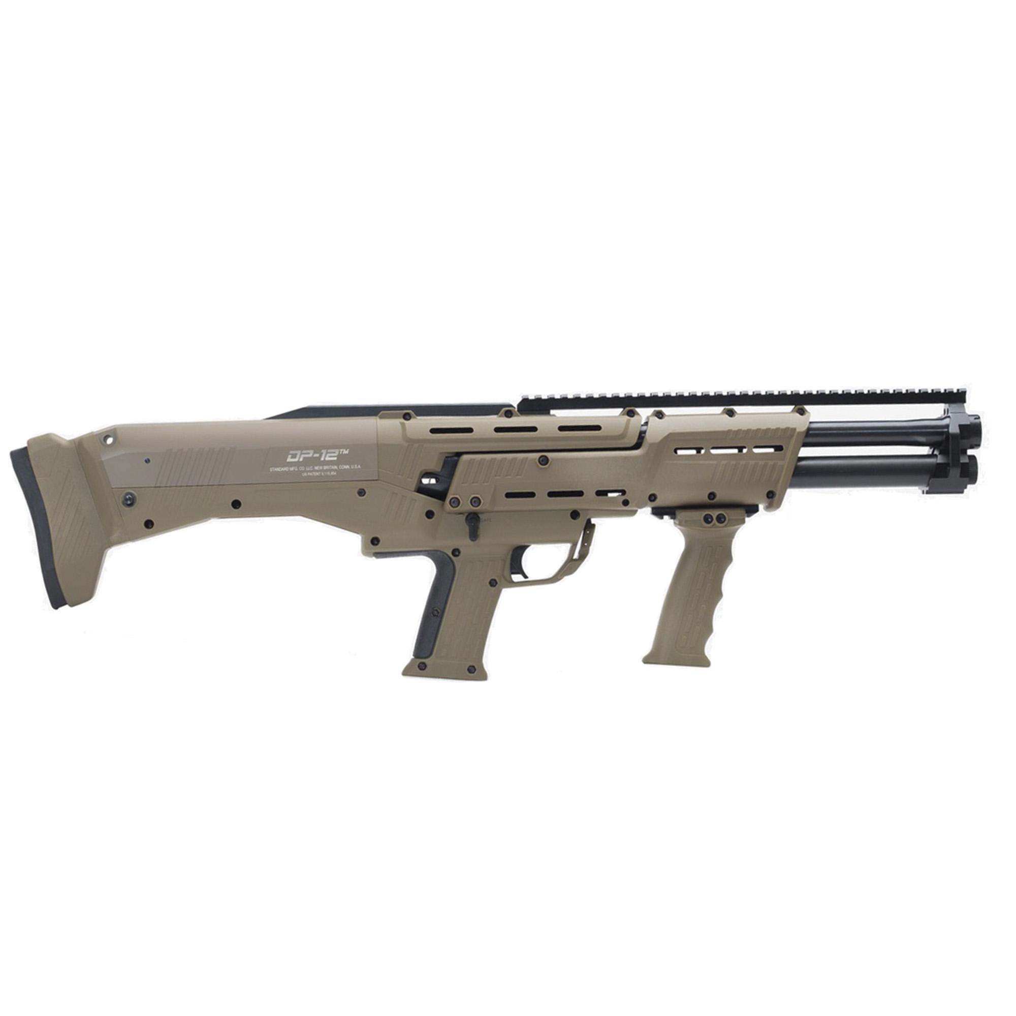 Standard Mfg. DP-12 Shotgun, 12 Ga, Tan