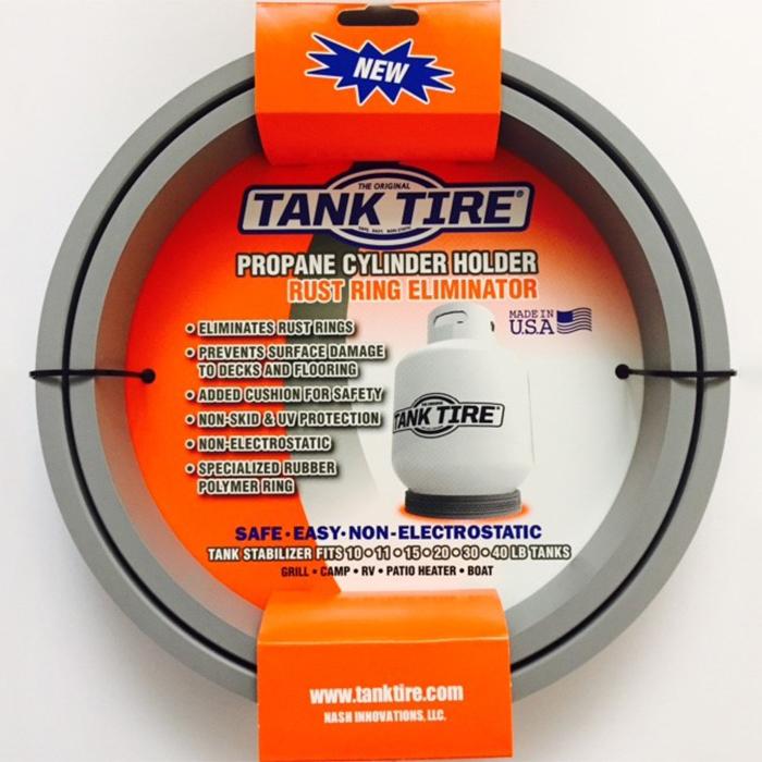 Tank Tire Propane Tank Holder