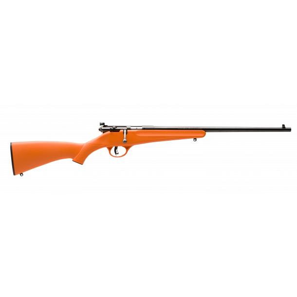 Savage Rascal Rimfire Rifle, .22 LR, Orange